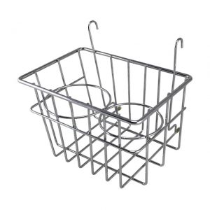 Storage Basket with cupholders, chrome - Interior - Upholstery and accessories - Stow away rack  Bus  - BBT Production