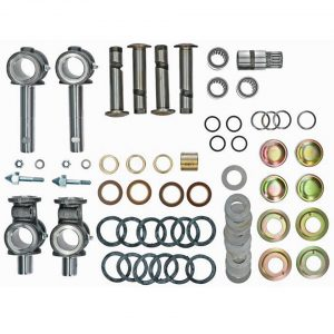 King and Link-pin complete kit - Under-carriage - Front suspension - Spindle  Bus -07/67 (XView 4-12)  - BBT Production