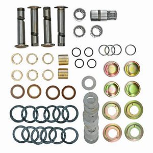 Link pin set - Under-carriage - Front suspension - Spindle  Bus -07/67 (XView 4-12)  - BBT Production