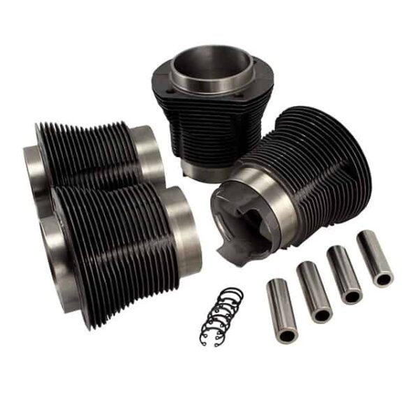 Piston and cylinder kit, cast, upper 101,00 mm - lower 97,20 mm - Engine - Lower block - Cilinder/ piston kit Type 1, AA performance  - Generic