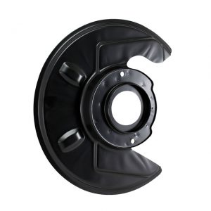 Dust cover behind brake disc, left - Under-carriage - Brakes - Brake discSold each  - Generic