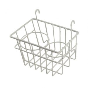 Storage Basket with cupholders, ivory - Interior - Upholstery and accessories - Stow away rack  Bus  - BBT Production
