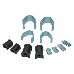 Sway bar mounting kit, front axle, both sides - Under-carriage - Front suspension - Front axle beam  Beetle,  Karmann Ghia -07/65 original (XView 4-04)  - Generic