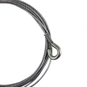 Gas cable, left hand drive, LHD - Under-carriage - Cables - Gas cables  - Generic