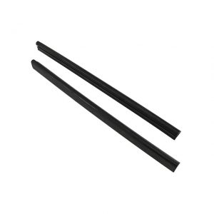 Seals windscreen post, convertible, as pair, L/R - Exterior - Body part rubbers - Door and window seals Karmann Ghia (XView 1-15)  - Generic