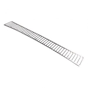Grill under rear window42 holes - Exterior - Accessories - Chrome grills  - Generic