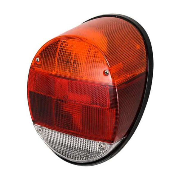Tail light, left or right, European, black base, each - Electrical section - Lights and glasses - Tail lights  Beetle  - Generic