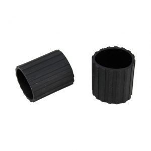 Rubber for plugs rear seat, as pair - Interior - Seats and accessories - Seat rail bushings  - Generic