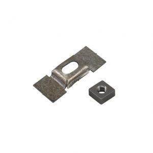 Square cage nut in sunroofframe M5x8, each - Interior - Headliner clothing and sunvisors - Sliding roof parts  Bus, VW Sunroofs (XView 2-05)  - VW Sunroofs
