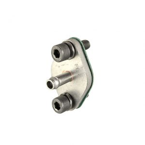 Flange water pipe on cylinder head to 3rd cylinder T25, Stainless Steel - Engine - Water circuit - Metal water pipes  - Generic