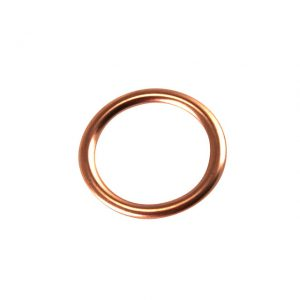 Gasket between cylinder head and manifold, single port, 25hp, each - Engine - Fuel and intake - Manifold seals  - Generic