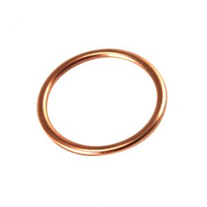 Gasket between cylinder head and manifold, single port, 34 Din Hp, 40 Sae, 1200cc 60-, each - Engine - Fuel and intake - Manifold seals  - Generic