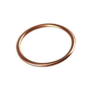 Gasket between cylinder head and manifold, single port, 40-42 Din Hp, 45-50 Sae, 1300-1500cc 64-, each - Engine - Fuel and intake - Manifold seals  - Generic