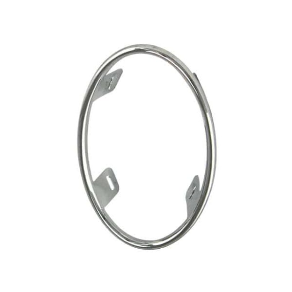 Chrome ring for taillight lens/reflector, each - Electrical section - Lights and glasses - Tail lights  Beetle  - Generic