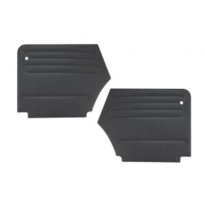 Quarter panels, rear, Beetle convertible, 2 pieces - Interior - Door finish and emergency brake - Door and quarter panels  - Generic