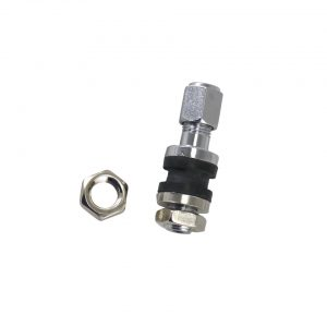 Chrome valve stem, each - Exterior - Wheel rims and accessories - Centercaps, nuts and bolts  - Generic