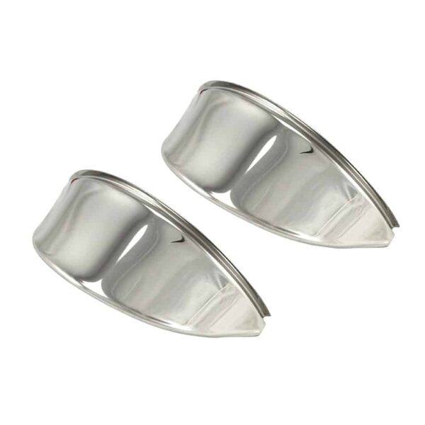 Eyebrows, S/S, smooth - Electrical section - Headlights and accessories - Eyebrows and headlight covers  - Generic