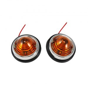 Round lights, orange - Electrical section - Lights and glasses - Custom tail lights  - Generic