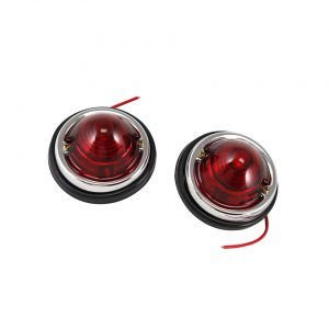 Round lights, red - Electrical section - Lights and glasses - Custom tail lights  - Generic