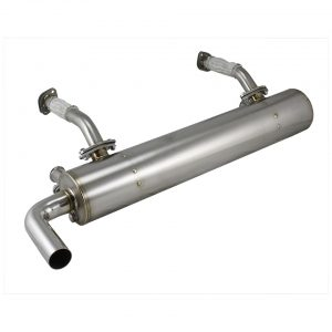 Exhaust, Vintage Speed, without pre-heat risers, Stainless steel - Engine - Exhaust and accessories - Vintage speed exhaust  - Vintage Speed