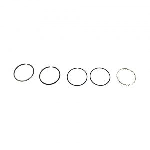 83 mm, 2.5 x 2.5 x 4 mm - Engine - Lower block - Piston rings  - Generic