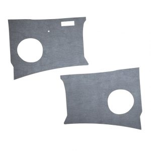 Kick panels, grey plastic, as pair - Interior - Door finish and emergency brake - Door and quarter panels  - Generic
