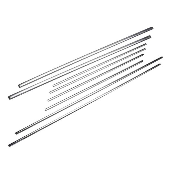 Moldingkit - Type3 -07/66 (USA) - Exterior - Accessories - Chrome moulding kits and mounting pieces  - Generic