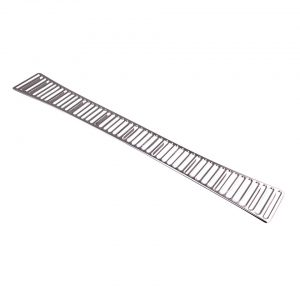 Grill under rear window50 holes - Exterior - Accessories - Chrome grills  - Generic