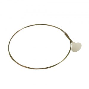 Decklid inner cable KG, ivory - Under-carriage - Cables - Engine lid rear cable  - Generic