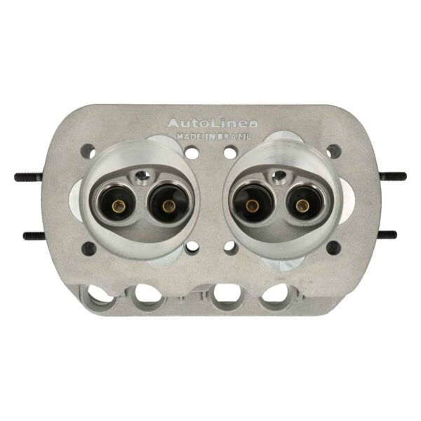 Cylinder head, baredual port, Combustionchamber: 51ml (3.11 CI) - Engine - Lower block - Cilinder heads (XView 5-04)  - Generic