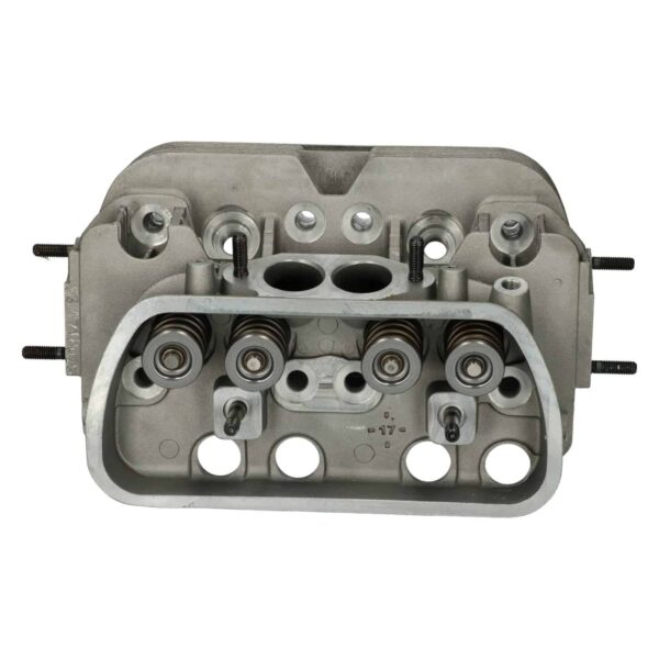 New cylinder headdual portwith valves, Combustionchamber: 51ml (3.11 CI) - Engine - Lower block - Cilinder heads (XView 5-04)  - BBT Production