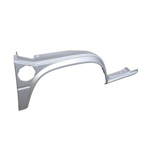 Front wheel arch, complete, right - Exterior - Body parts - Bodywork  Type 25 (XView 1-35)  - Silver Weld Through