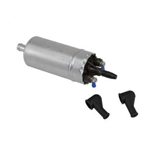 Electric fuel pump for Injection. Inlet 12mm, outlet 8mm - Flow = 130 L/h - Pressure = 3bar - 10bar - Engine - Fuel and intake - Fuel pump  - Generic