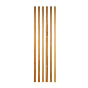 Wood slat kit for hoop /Single cab - Exterior - Accessories - Pick-up bows set  - BBT Production