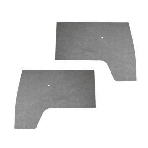 Front door panels, grey plastic, as pair - Interior - Door finish and emergency brake - Door and quarter panels  - Generic