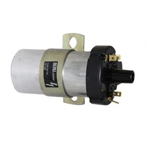 12 volt coil Beru T25 WBX with clamp - Engine - Ignition - Coil and accessories  - Generic