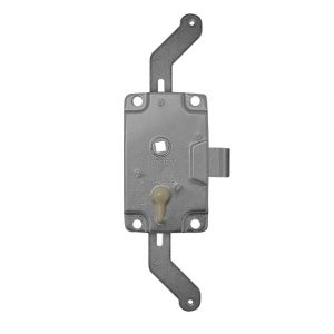 Cargo door large lock mechanism with locking knob - repro, Grease before use! - Exterior - Mirrors and latches - Latches and locks  - Generic