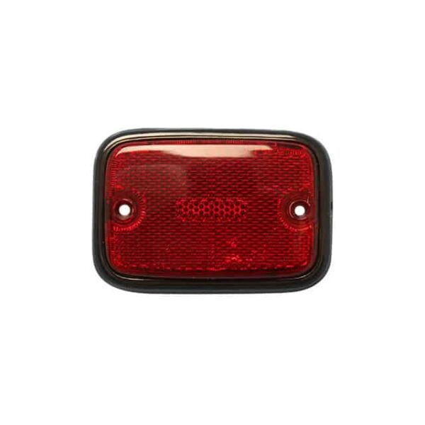 Side reflector lens rear - red-black - Electrical section - Lights and indicators - Side marker  Bus  - Generic