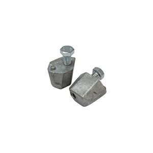 Gear selector guides - 5-speed - pair - Under-carriage - Rear suspension and gearbox - Clutch and shift rod,  Type 25 (XView 4-17)  - Generic