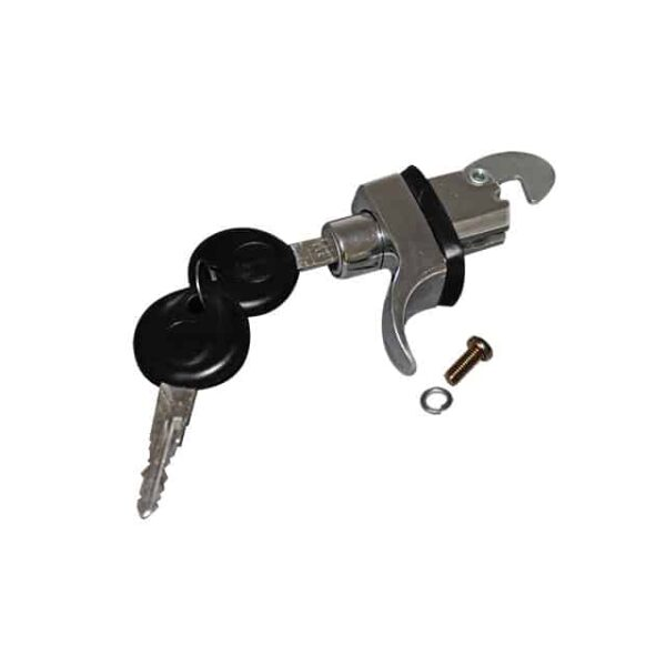 Engine lid lock W/keys - Chrome - Exterior - Mirrors and latches - Latches and locks  - Generic