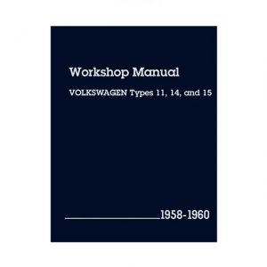 Bentley Manual Type 11/14/15 - 1958-60 (English) - Manuals - Books - Technical books  Beetle/Karmann Ghia  - Generic
