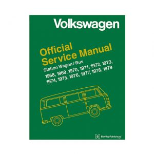 Bentley Manual Type 2 1968-79 (English) - Manuals - Books - Technical books Bus/Type 3/ Porsche  - Generic