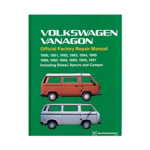 Bentley Manual Vanagon 1980-91 (English) - Manuals - Books - Technical books Bus/Type 3/ Porsche  - Generic
