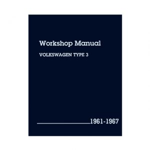 Bentley Manual Type 3 - 1961-67 (English) - Manuals - Books - Technical books Bus/Type 3/ Porsche  - Generic