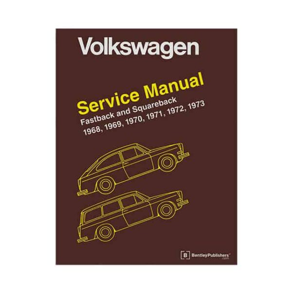 Bentley Manual Type 3 - 1968-73 (English) - Manuals - Books - Technical books Bus/Type 3/ Porsche  - Generic