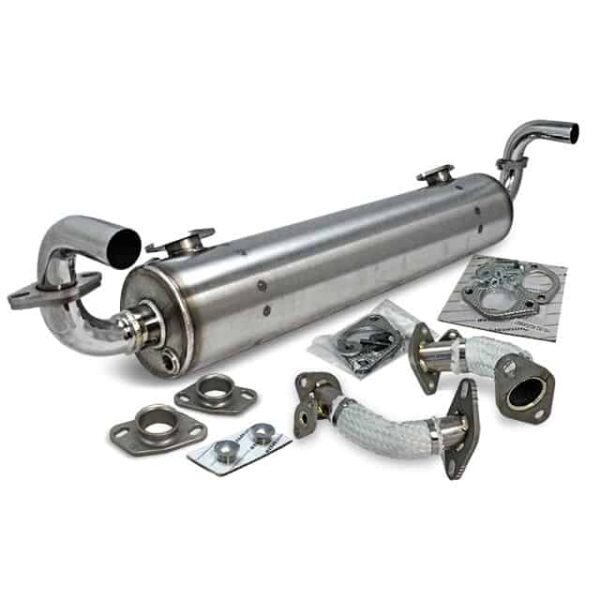 Exhaust - THING 'Vintage Speed' with pre-heat risers / Stainless steel - Engine - Exhaust and accessories - Vintage speed exhaust  - Vintage Speed