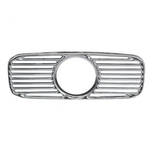 Dashgrill with hole for clock, chrome - Interior - Dashboard and accessories - Dashboard detailing  - BBT Production