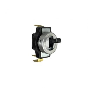 Interior light switch - black - Electrical section - Switches and apparatuses - Dashboard switches  - Generic