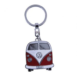 Key Rings with the design of the VW T1 Bus - red - Gadgets - Sew on badge, Key rings, gifts - Key-ring  - Generic