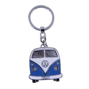 Key Rings with the design of the VW T1 Bus - blue - Gadgets - Sew on badge, Key rings, gifts - Key-ring  - Generic